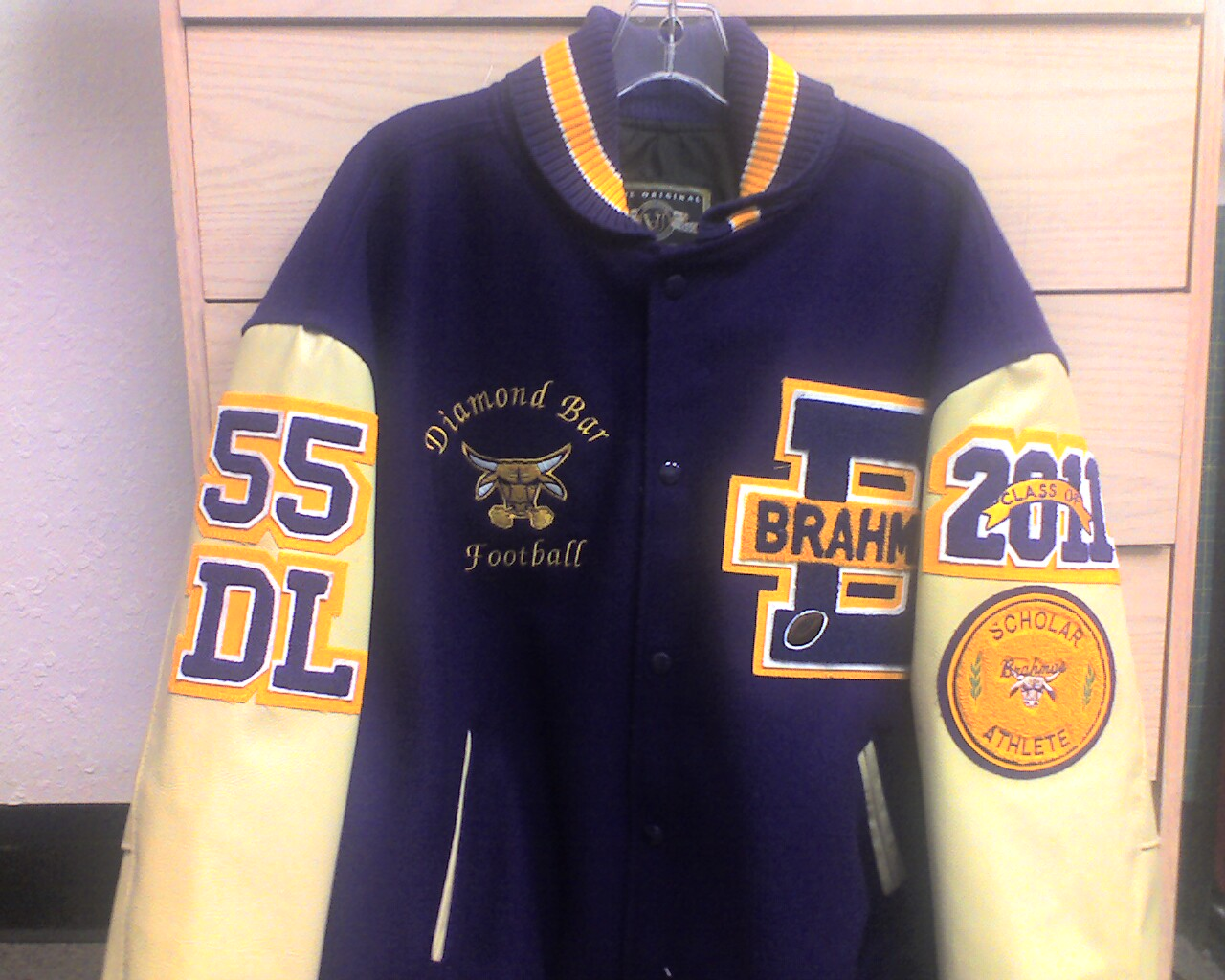 Letterman Jacket Embroidery Designs